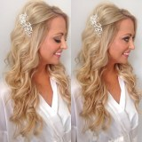 hairstyle for long hair for wedding 2017