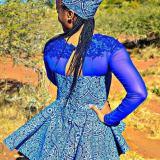 How To Wear Tswana Wedding Dresses 2018
