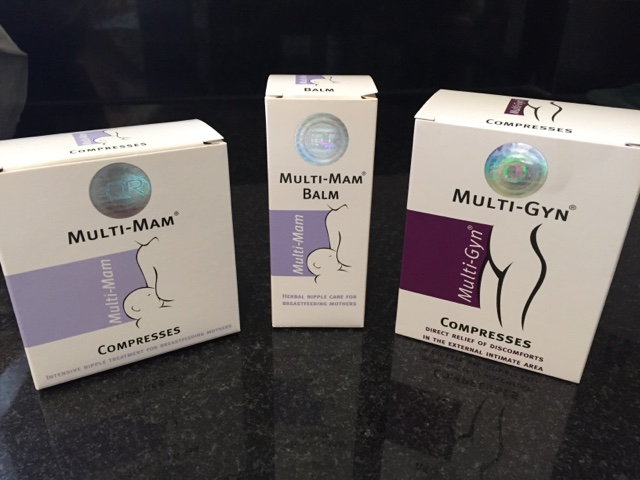 Multi-Mam Herbal Compresses for Breast Feeding Mothers 12 Pack