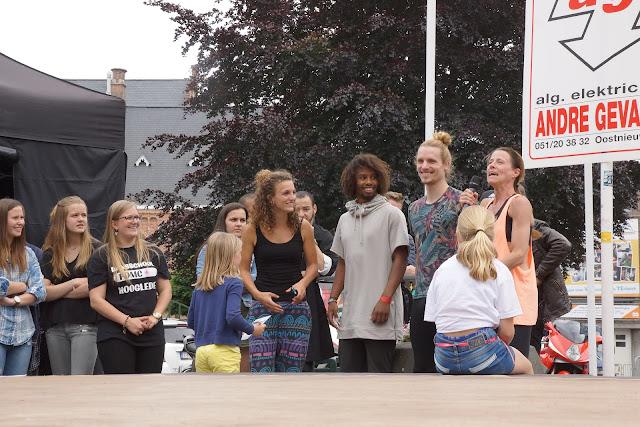 bekende dansers en danseressen op de batjes in Roeselare