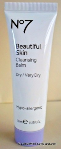 Boots No.7 : Beautiful Skin, Cleansing Balm for Dry / Very Dry skin