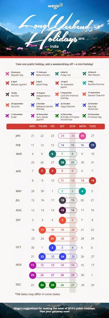 India Public Holidays 2015
