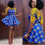 kitenge designs for short dresses 2017