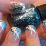 Feather Nail Art Ideas 2017 2018