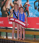 2005 NZ Pool Champs Silver Medalists Tube Rescue Dannielle O'Connor, Samantha Sanderson-Carter