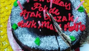 kek sambutan hari lahir abang koning dan pokde