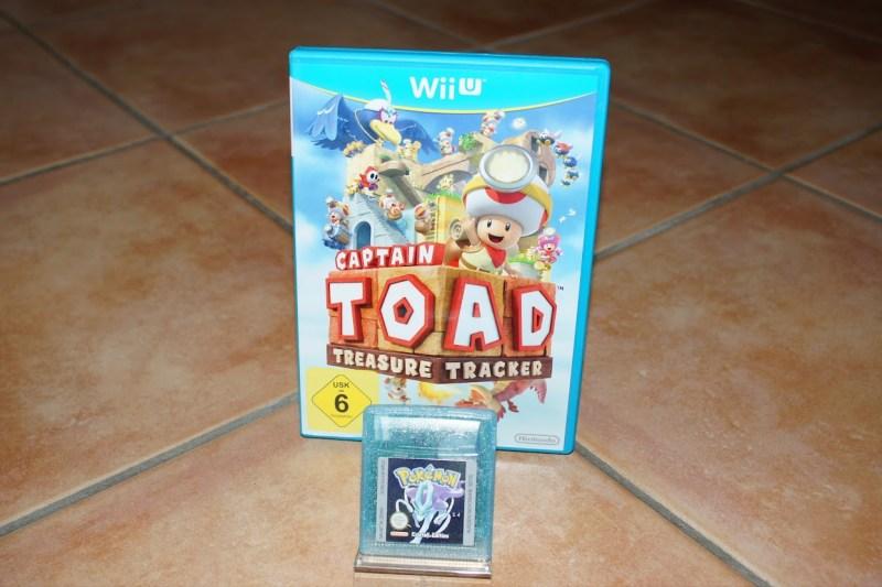 Games Wii U Captain Toad Treasure Tracker Pokémon Kristall Crystal Gameboy