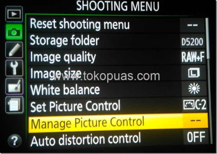 tutorial install picture control dslr camera
