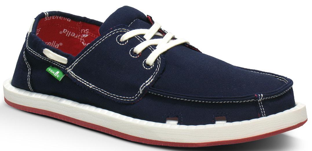 *Sanuk與SUNBRELLA 聯名款:OVERBOARD寬版帆船鞋新色登場! 2