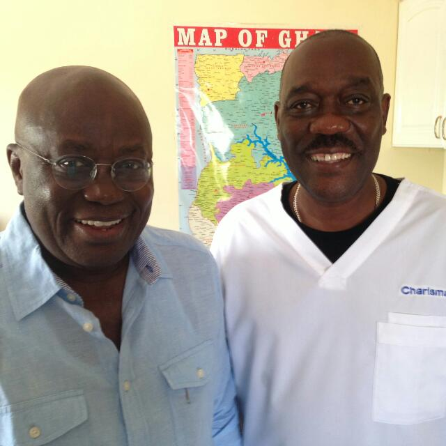 stonebwoy's father in law and Akuffo Addo