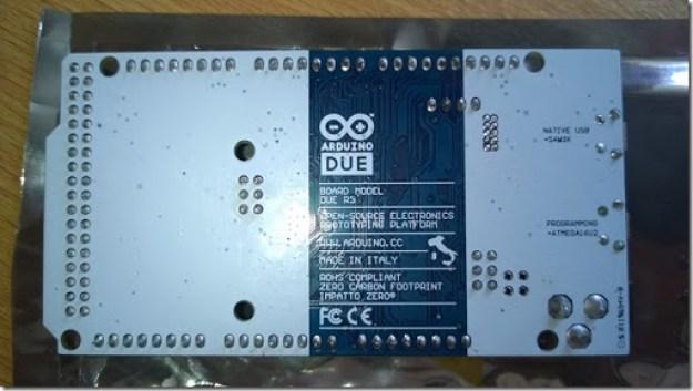 Retro scheda Arduino due thumb1 - Sviluppare con Arduino due
