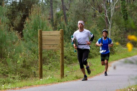 Cyril et Eric au run and skate Photo Robin Deprez