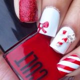 cool christmas nail art designs