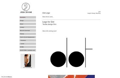 デバイン氏デザインの「テキスタイルデザイン会社 dot-logo」のロゴ