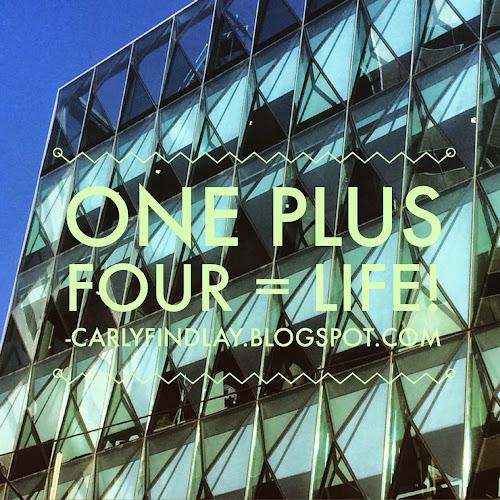 Windows, Sky with one plus four = life