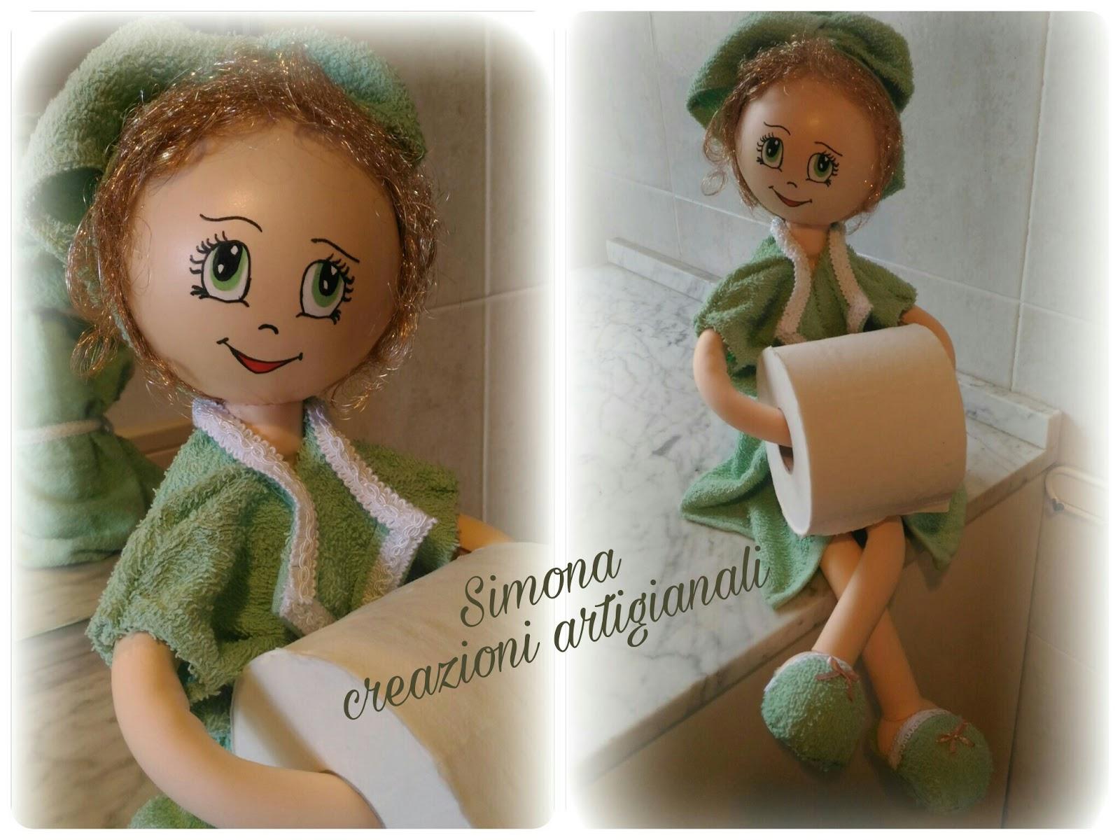 Lo Scricciolo Rosa Le Mie Bambole Porta Carta Igienica
