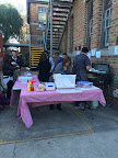 Sausage sizzle tables at election day