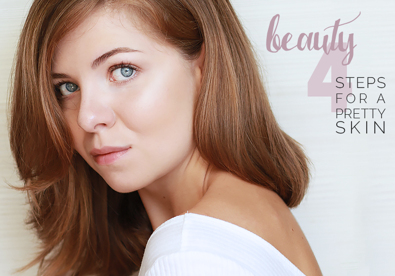 pretty skin after the summer, beautiful skin to go back to school, daily beauty steps, best drugstore skincare, how to get a radiant complexion