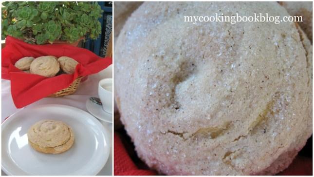 Тахинопитес (ταχινόπιτες) или питки с пълнеж от тахан и канела