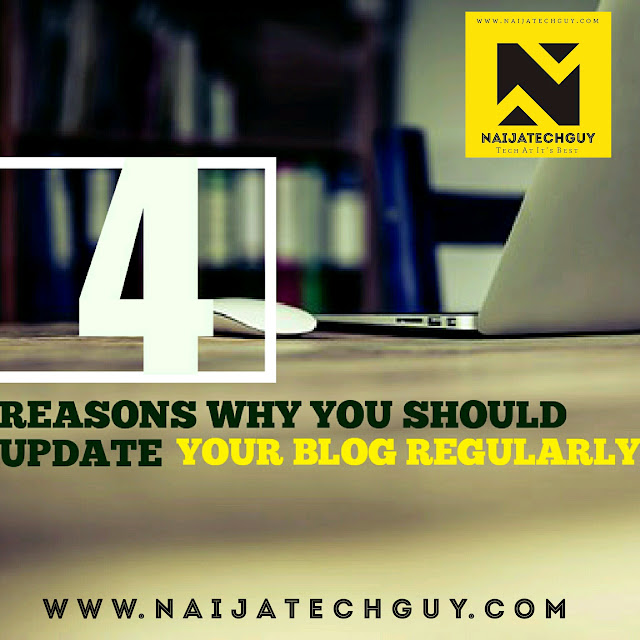 4 Reasons Why You Should Update Your Blog Regularly 1