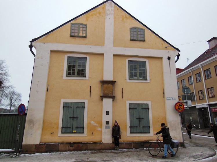 Carl Linnaeus' House, Uppsala, Sweden