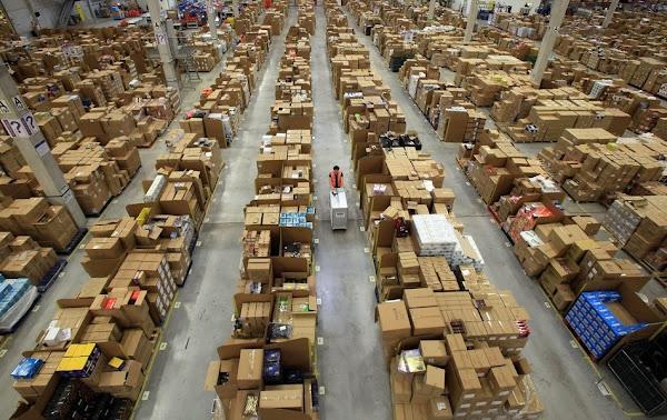 全球最大電子商務網站 Amazon 貨物倉儲的神秘面紗