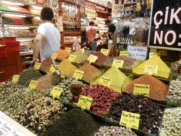 Egyptian Spice Market, Istanbul Turkey