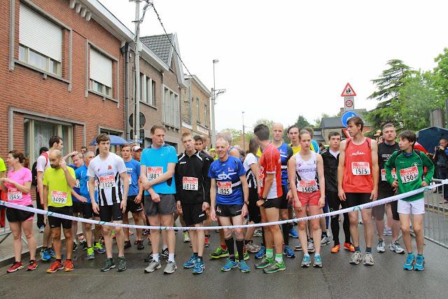 startlijn 5 km jogging