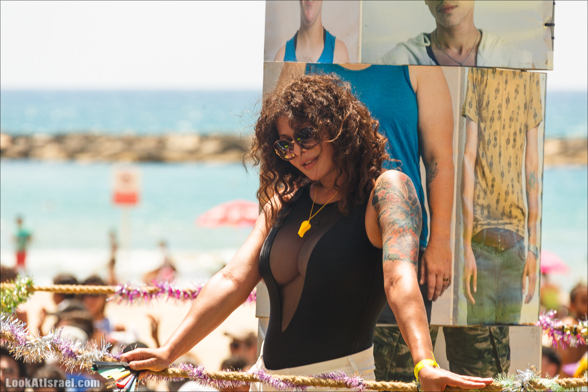 Парад гордости в Тель Авиве | Pride parade in Tel Aviv | מצעד הגאווה 2015 תל אביב | LookAtIsrael.com - Фото путешествия по Израилю