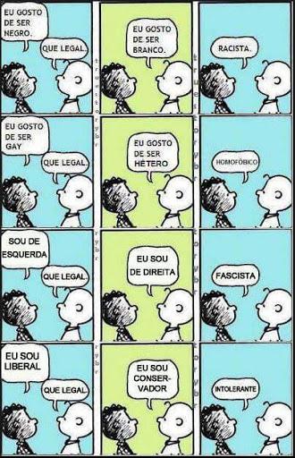 Intolerancia - Intolerância aos que  falam a verdade