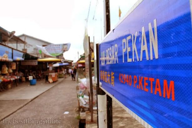 Jalan Besar Pekan [Town Main Road], Pulau Ketam