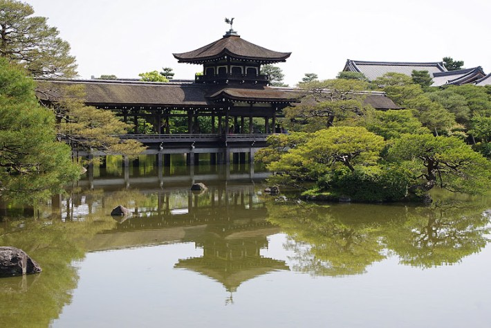 Qué ver en Kioto. Santuario sintoísta Heian Jingū