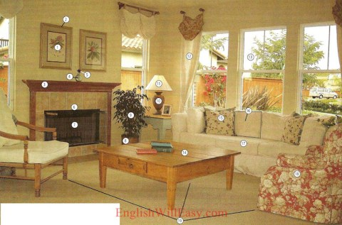 Living room - Housing - Photo Dictionary