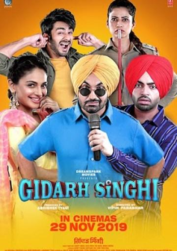Gidarh%2BSinghi%2Bcover Download Gidarh Singhi 2019 Punjabi Movie 300MB PdvdRip DVDScr