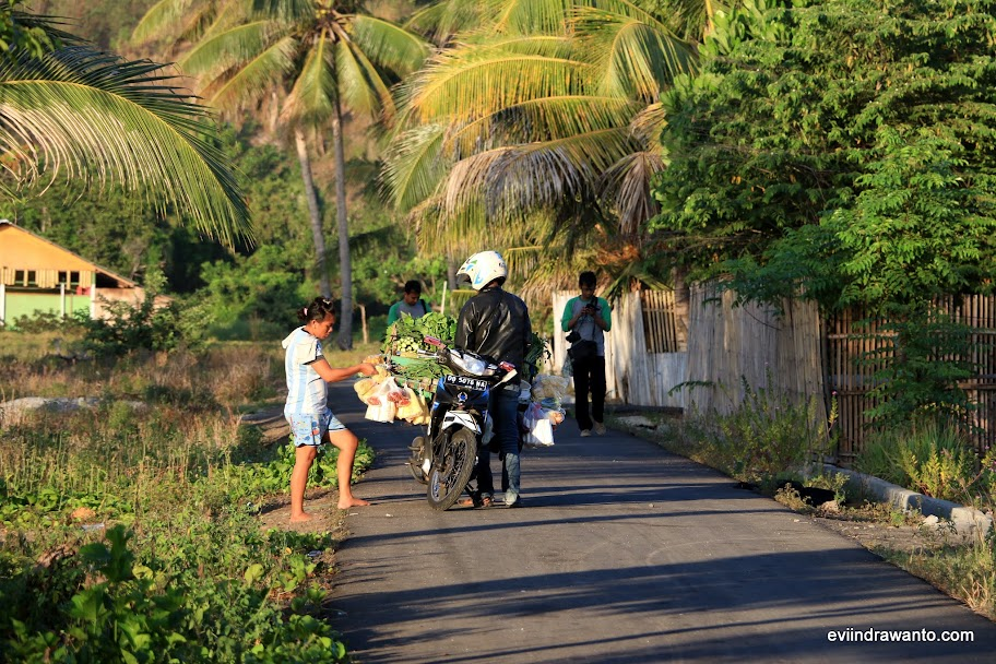 Pagi di Kampung Buyat Pante
