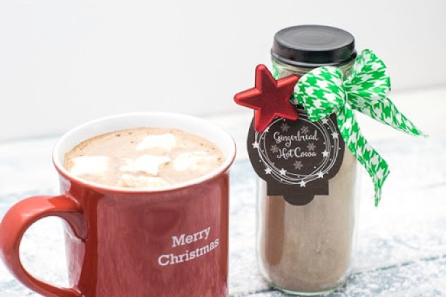 Homemade Christmas Gifts: Hot Cocoa