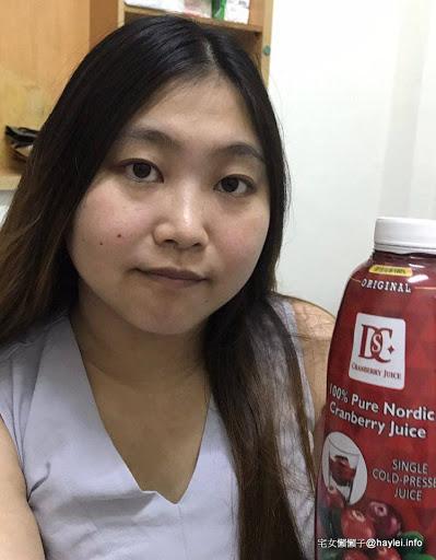 DSC 浚泰蔓越莓原汁 喝的保養,愛美就要身體力行喝果汁!做一瓶要用掉800顆蔓越莓的頂級初榨果汁!
