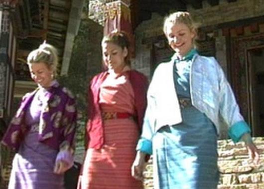 Cameron Diaz và chuyến đi Bhutan trong khuôn khổ chương trình MTV Tripping