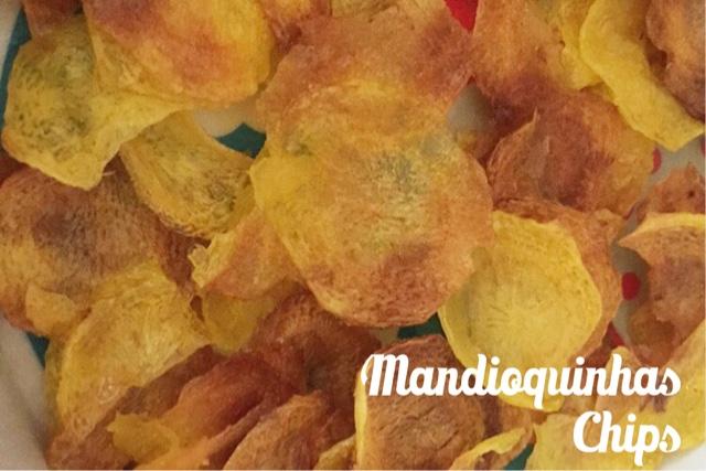 Receita Mandioquinha Chips