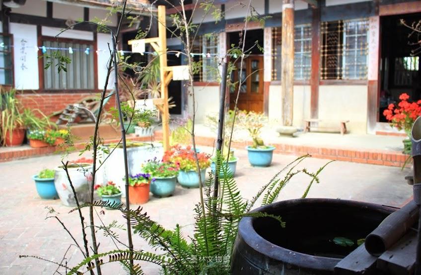 台南墨林文物館,藍染熊手作坊