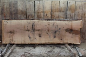 "479 White Oak -4 10/4  x  35"" x  34"" Wide x 9' Long"