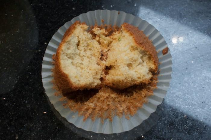 Lemon lime muffin