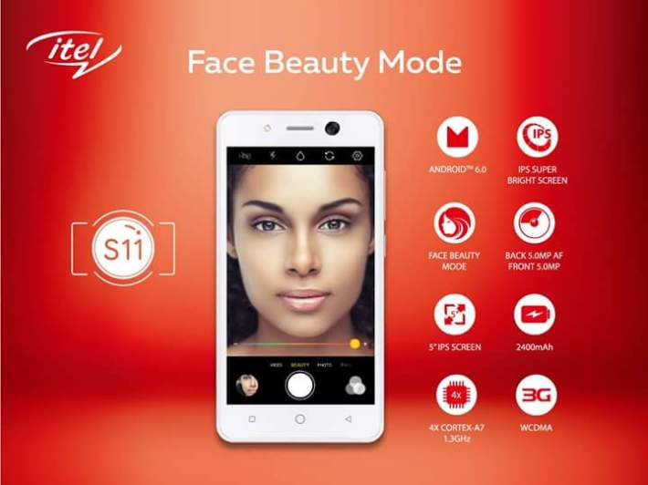 Image result for iTel mobile introduces the new S11