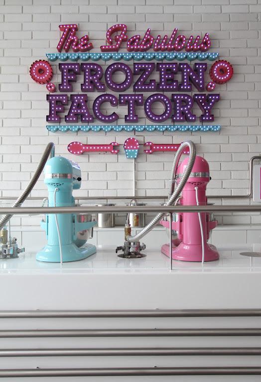 *極低溫現點現做冰淇淋:甜美風格小型冷凍工作臺! 1