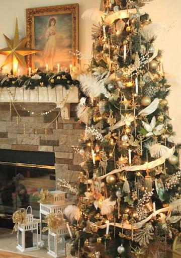Gold Victorian Christmas Treejpg