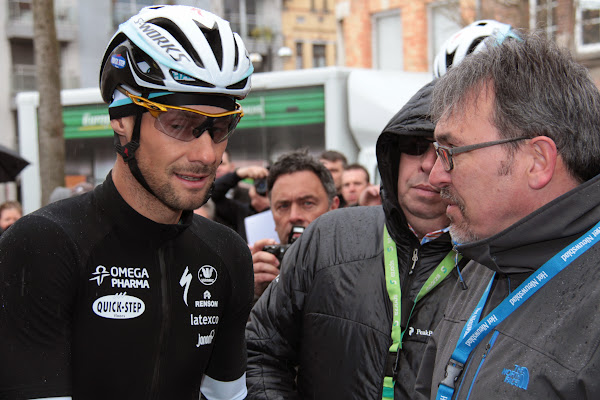 Tom Boonen en Chris Piccavet