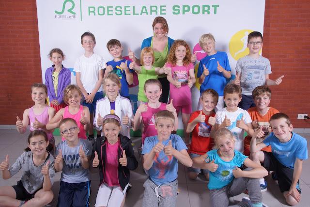 klasfoto's op Doe aan sportdag Roeselare