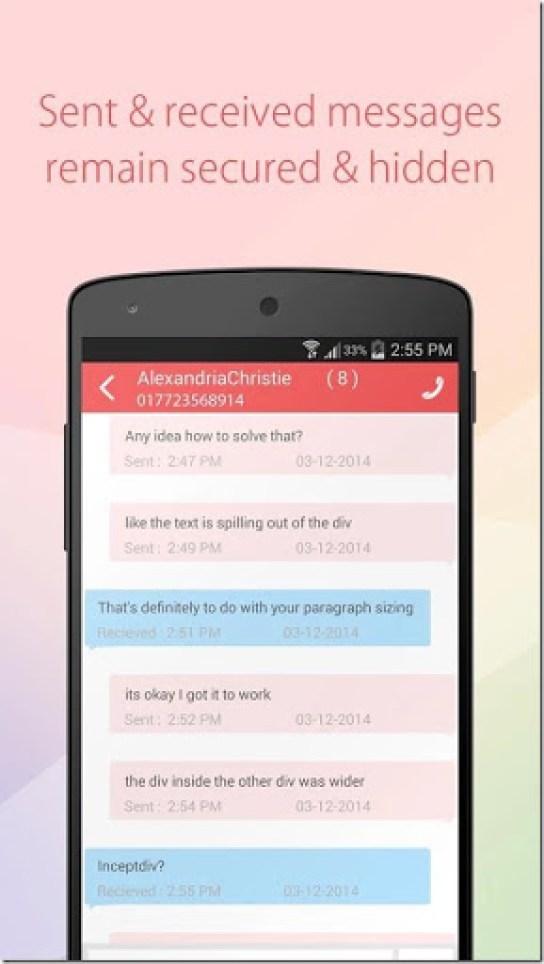 cara menyembunyikan nomer khusus di contact android