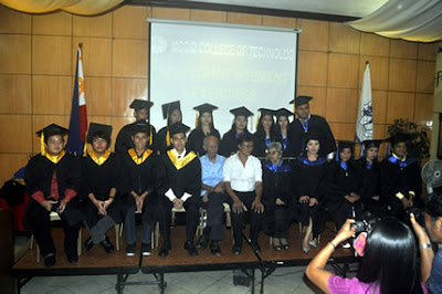 Batch 2012 of Tiaong Quezon Campus pose together with MCCID Administrators, Faculty and Special Guest Speaker.
