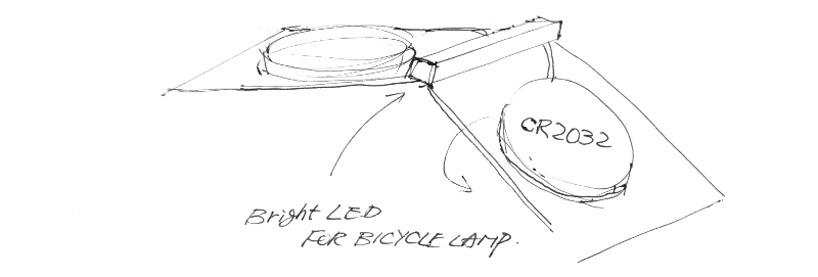 *LED紙捲手電筒:山中一宏節能輕設計! 4